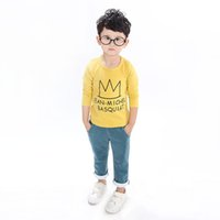 t shirts manufacturer - Kids T shirt long sleeve T shirt boy Hitz Korean version of the new cotton children s t shirts manufacturers