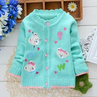 baby cartoon images - Girl Winter Fashion Sweater New Style Warm Children s Sweater Female Baby Cartoon Image Thick Cashmere Sweater