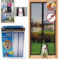 Wholesale 2014 New Novetly Anti Mosquito Door Screens Brand Kitchen Bedroom Hands Free Keep Fresh Air Mesh Door Screen