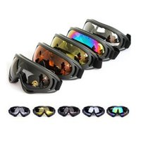 Cheap New X400 UV Protection Outdoor Sports Ski Snowboard Skate Goggles Motorcycle Off-Road Cycling Goggle Glasses Eyewear 10 PCS Lot