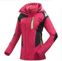 Wholesale brand women s Layer Winter snowboard skiing hiking jackets windbreaker Sport Outerwear Waterproof ski suit