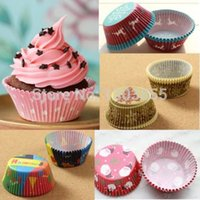 Wholesale Details about Per Paper Cake Cup Liners Baking Cup Muffin Cases Wedding Party