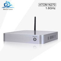 atom nettop - Low price Mini pc Atom N2701 GHZ Micro desktop computer Barebone nettop windows xp linux with M wifi Vga Com