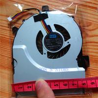 asus notebook cooler - New Notebook CPU Cooler Fan For ASUS K55 K55A K55D K55X K55V X55 X55A X55U X55C X55VD A55 A55V R500V Radiator Pin