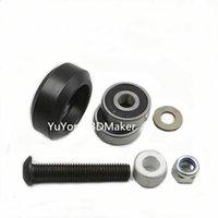 Wholesale High tolerance CNC solid v wheel kit for v slot