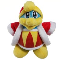 Wholesale New Star KIRBY Plush Doll King DeDeDe Toy quot for Children Best Fashion Gift