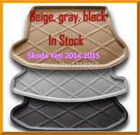 Wholesale High Quality Rubber Foam Trunk Tray Liner Cargo Mat Floor Protector foot pad mats For Skoda Yeti colors