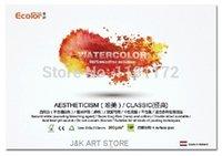 acid free glue - Ecolor cotton linen mixture gsm lbs aquarelle watercolor blocks side glued block paper pad acid free sheets
