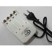 aa digital camera - 2016 BRAND NEW AA AAA Batteries Charger Slots For NiMH NiCD Rechargeable Battery BTY Charger For Digital Camera High Quality