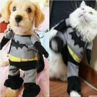 batman apparel - Free shiping SIZE XS S M L dog apparel pet clothes Batman style clothes for dogs and cats Halloween Chirstmas BEST GIFT WY140 p