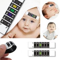 baby testing - 2016 New x Forehead Head Strip Thermometer Fever Body Baby Child Kid Test Temperature Hot Selling
