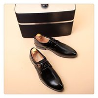 Cheap Men's Black Leather Shoes Best Pointed shoes