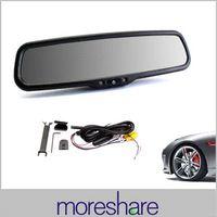 adjusting mirrors car - 2014 New TFT LCD Rear View Moniors Car Mirror Monitor Auto Adjust Brightness Parking Assistance Car Monitor Display M37196