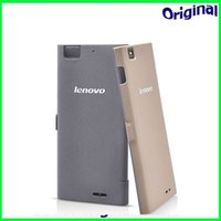 For Chinese Brand Leather  Original smart leather case for Lenovo K900 Smartphone Intel Powered 2.0GHz 5.5 Inch IPS Screen RAM 2GB ROM 16GB Android 4.2 Smart Phone