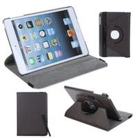al por mayor cubierta de la mini pantalla magnética del ipad-360 grados que giran la cubierta elegante magnética de la cubierta de la PU de la cubierta para el iPad mini de Apple con la película libre de la pantalla y la pluma de la aguja