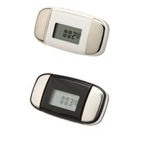 Wholesale LCD Multi function Sports Pulse Heart Rate Monitor Pedometer Step Calorie Distance Counter White Black
