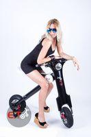 Wholesale 2015 Smart Folding Electric Scooter Adult Motor European ET KBike E Bike Foldable E Scooter Motor Wheels Motorcycle Balanced Car Motors