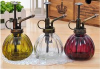 Wholesale High wuality colors Retro glasses sprayer Zakka garden watering equipment ML watering Cans