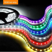 ribbon strip - 2015 new M DC V warm white cool white blue green red LED Strip SMD Flexible light led m outdoor waterproof IP65 Ribbon mmled
