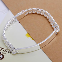 Wholesale fashion new bracelet like sterling silver men mm leather bracelet
