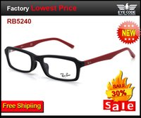 Cheap 2014 RB5240 EYE glasses fashion square frame men women ultra myopia high index prescription lenses progressive optical lens