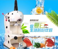Wholesale Made In Taiwan YUKUN PD B Commercial use Electric Ice Shaver Snow Cone Maker Ice Crusher Snow Ice Shaver Machine