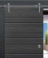 barn rollers - European Modern SLIDING BARN DOOR HARDWARE FOR WOOD DOOR INSERT DOOR ROLLER STYLE