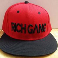 Wholesale rich gang last kings snapback caps black gold letter hat baseball hats hip hop men s fashion gorras hat high quality sports