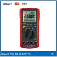 Cheap UNI-T UT-70D LCD Modern Digital Multi-Purpose Meters Volt Amp Ohm Temp Capacitance Inductance Multimeters