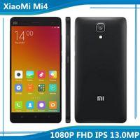 Ebook blanc Prix-Meilleur Crédit Original Xiaomi Mi4 16Go FDD LTE 4G Téléphone Snapdragon 801 Quad Core 5 pouces 1080P FHD IPS 13.0MP MIUI V7 Blanc Noir Téléphone Mobile