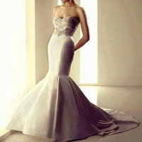 Cheap A-Line wedding dress 2015 Best Reference Images Sweetheart real pictures