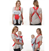 Wholesale Vogue Breathable D Mesh Baby Wrap Carrier Baby Sling for Infant Babies Multi function Baby Carriers Sling Colors
