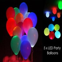 led balloons - Factory outlets white led light Led ballon Latex balloons for Wedding and Party Decoration
