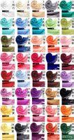 Wholesale 40 Colors Winter Pashmina Cashmere scarf for women oversized Solid Shawl Wrap scrarves women and men Unisex Long Range Scarf Pure