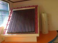 25 tres diana tubo de calor de tubo de vacío calentador de agua solar, colector solar dividida sistema de calefacción de agua caliente