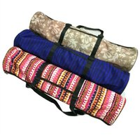 Wholesale Colchoneta Yoga Bag Backpack Gym Mochila Yoga Mat Bag Multifunctional Packet Mat For Sport Mats Backpacks Stripe Carrier