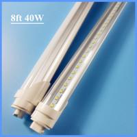Wholesale 2400mm R17D led tube lamp t8 SMD2835 leds W Lm FT AC100 V