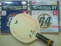 Wholesale Butterfly Table tennis blade Long Handle Short Handle SUPER ZLC Zhang jike Ping Pong Bat Tenergy Fx yasaka Rubber
