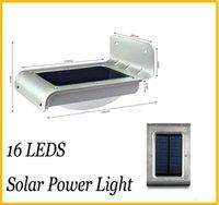 Wholesale YY Solar Powered LED Wall Lamp Solar light Solar Panel LED Energy saving lamp LED Wall Lamp lights Outdoor Garden Yard light