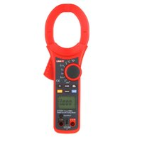 Wholesale UNI T UT221 Professional LCD Backlight A True RMS Digital Clamp Meters W Frequency Duty Cycle Test Multitester