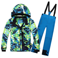 ski suit women - Men Women Ski Suit Ski Jacket Ski Pants Female Phibee Monoboard Ski Suit Waterproof Outdoor Jacket and Pants