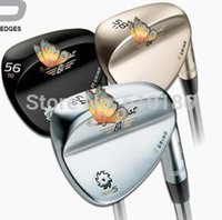Wholesale Hot new golf clubs Vo key Design SM5 golf wedges champagne color degree golf clubs wedge set
