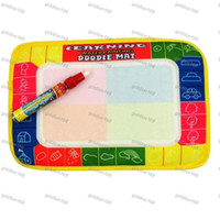 Wholesale 29X19cm Mini Water Drawing Mat Aquadoodle Mat Magic Pen Water Drawing board baby play mat