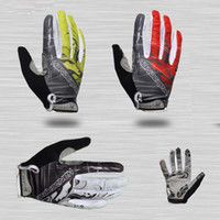 Wholesale Flame ride gloves long gloves winter mountain bike road bike belt shock pad slip resistant