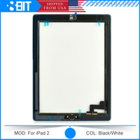 Wholesale High Quality Lowest Price Touch Screen with Original Adhesive For iPad no Home Button Free DHL