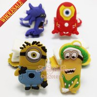 paper folder - Novelty New Hot Despicable Me Minions Multi function peper clips Cartoon Note Book Clips Book Clips Memo Notes Holder School Supplies