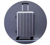 Wholesale bromen Trolley theft zipper luggage suitcase caster mirror password Trolley Hard luggage inch Dark Grey