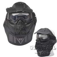 Wholesale Iron Masks Protective Outdoor War Game Military Tactical Full Face Shield Mask For Outdoo