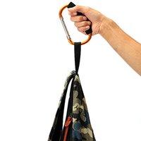 Wholesale Useful Orange Universal Large Buggy Pram Pushchair Shopping Bag Mummy Hook Carabiner Clip New