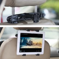 Wholesale Car Back Seat Headrest Mount Degree Adjustable Car Holder for inch Width Device Small Travel Mount S014